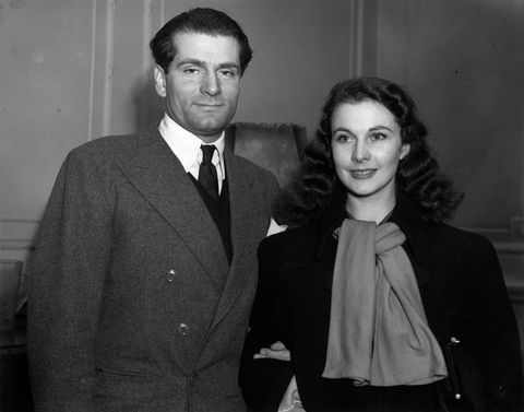 Sir Olivier y Vivien Leigh. Crédito: web harpersbazaar.com