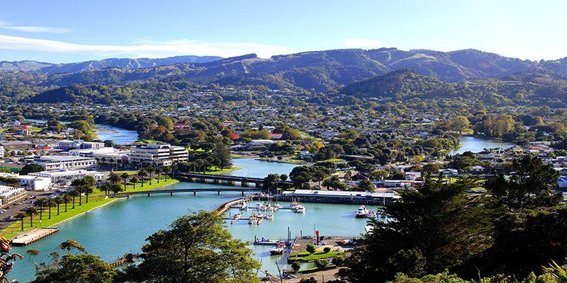 Gisborne es la primera ciudad del mundo que ve la luz del nuevo día. Crédito: nuevazelanda-kiaora.blogspot.com