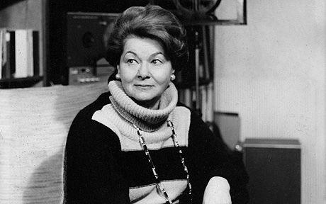 Como profesora durante más de medio siglo, Vera Rózsa alentó y desarrolló las voces de grandes figuras del canto. Crédito: web telegraph.co.uk