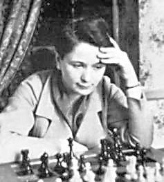 Sonja Graf, la segunda mejor jugadora del mundo, fue alumna del Gran Maestro Siegbert Tarrash. Crédito: web tabladeflandes.com