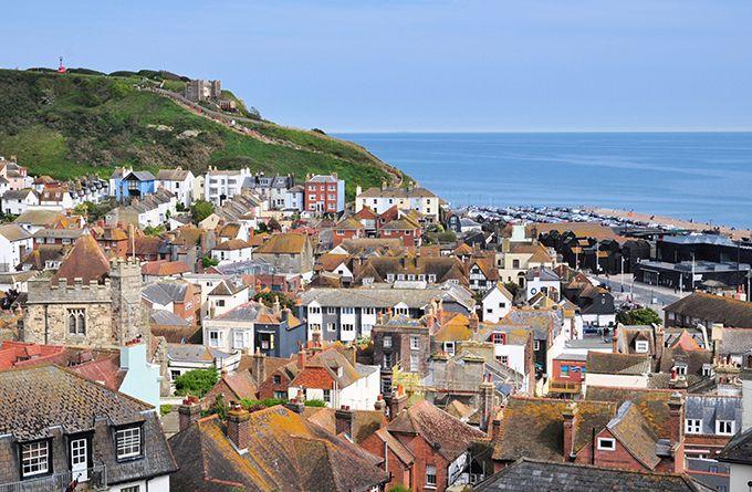 Hastings es una ciudad del sur de Inglaterra, en el condado de Sussex Oriental. Crédito: web britain-magazine.com