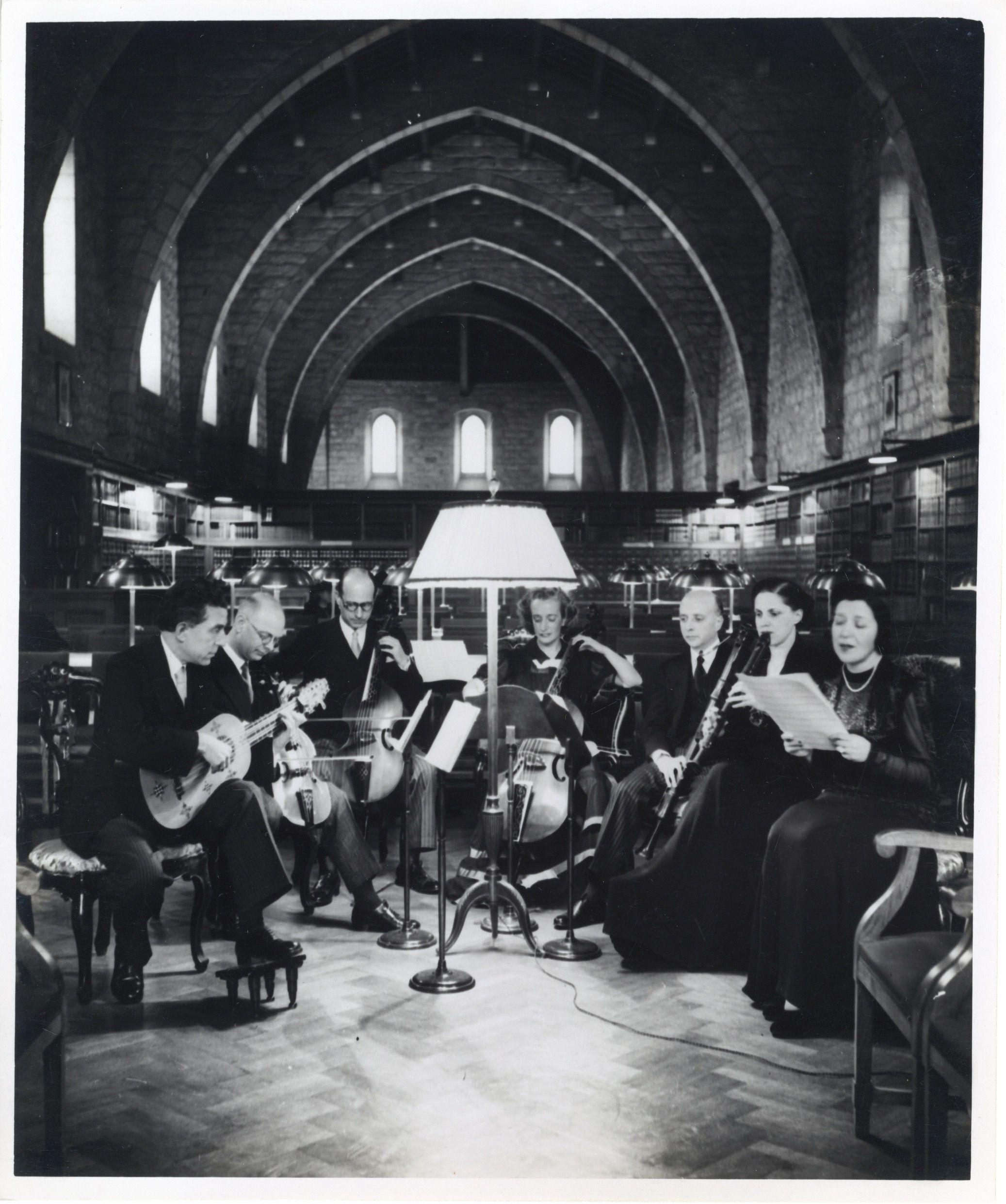 El grupo Ars Musicae fue fundado en Barcelona, en 1935, por José María Lamaña. Crédito: web es.wikipedia.org/wiki