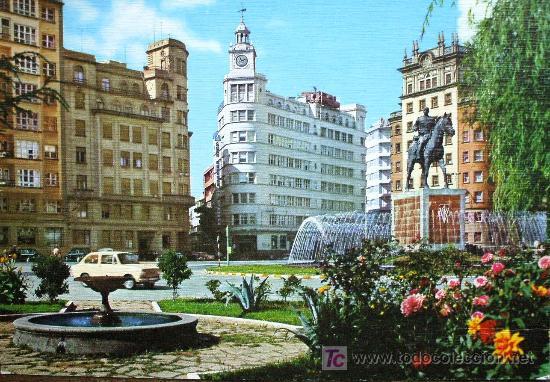 Ferrol es una ciudad de La Coruña, en Galicia. Crédito: web todocoleccion.net