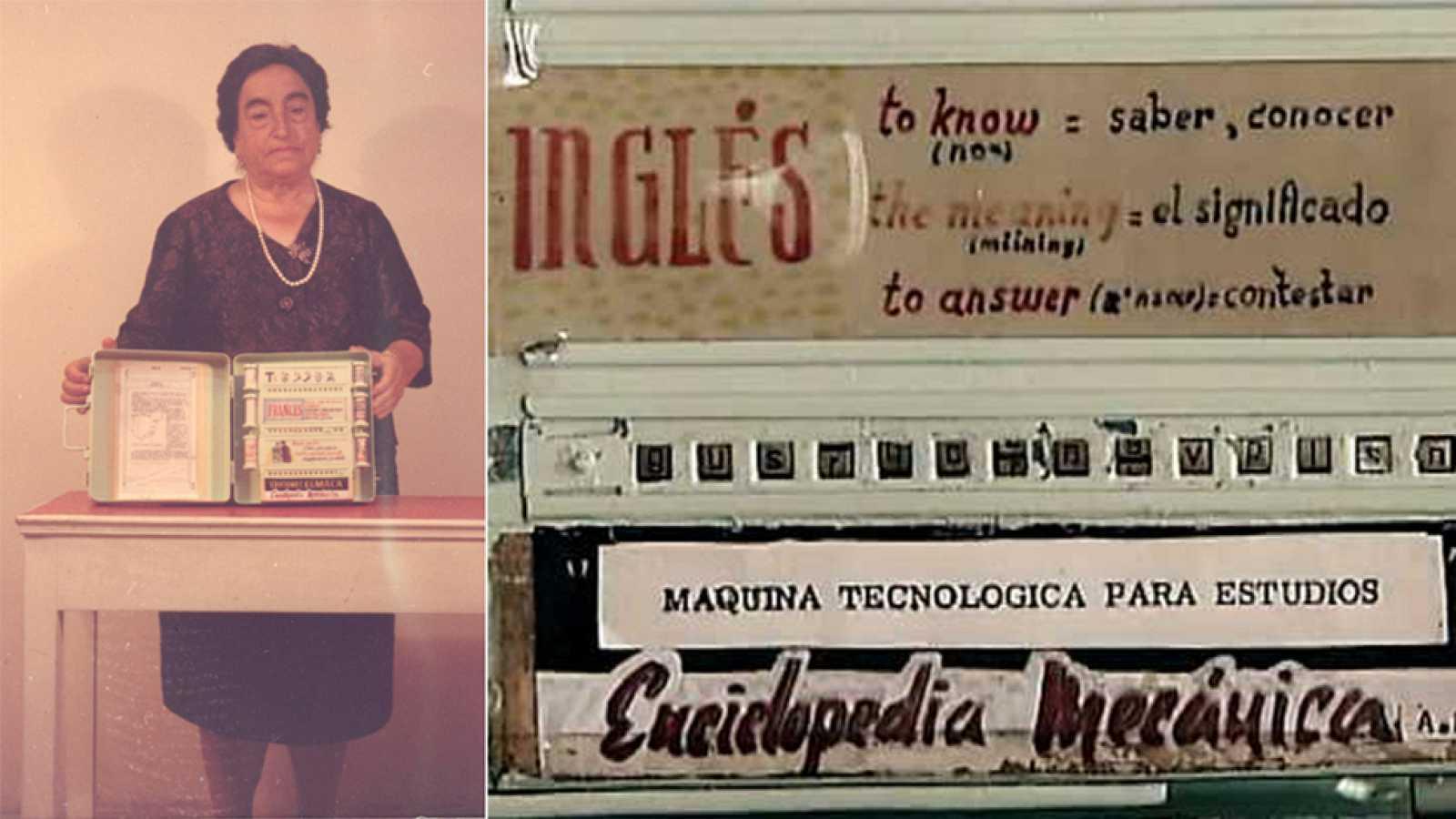 Angela Ruiz una notable mujer inventora. Crédito: web tve-con-ciencia.