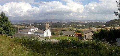Santa Eugenia ó Santa Uxia, en gallego. Crédito: web todopueblos.com