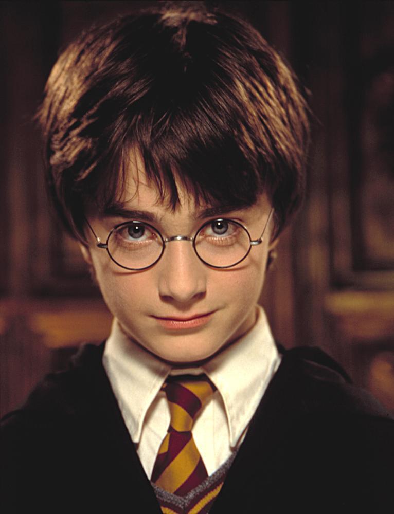 El joven Daniel Radcliffe, protagonista de las películas de Harry Potter. Crédito: Web de Time Magazine.