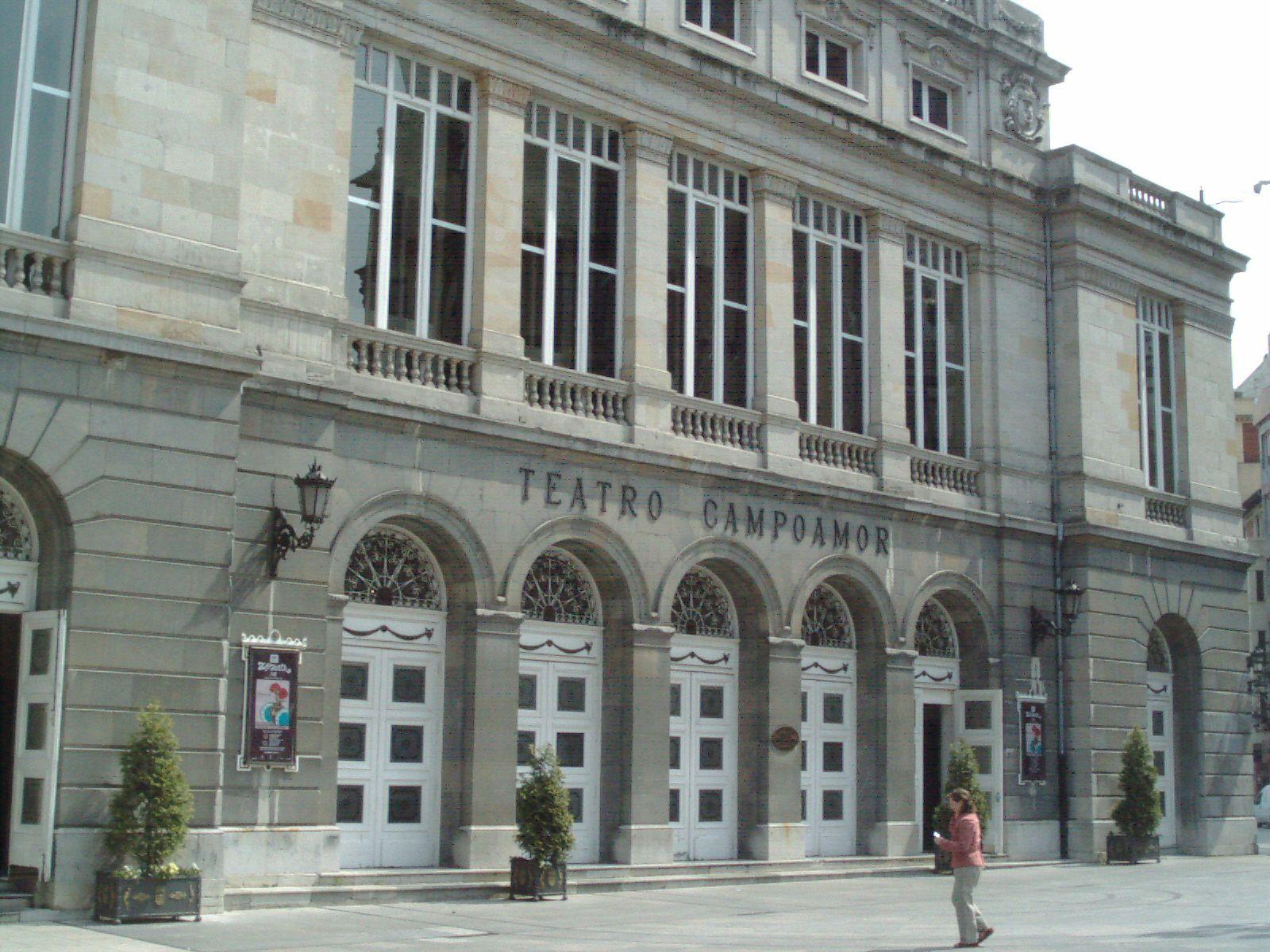 En el Teatro Campoamor, de Oviedo, se entregan todos los años los premios Príncipe de Asturias. Crédito: Jaime Escobar, fotógrafo aficionado.