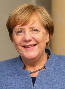 Angela Merkel política alemana