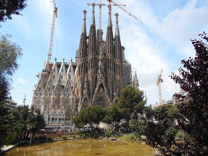 Catedral Sagrada Familia Barcelona