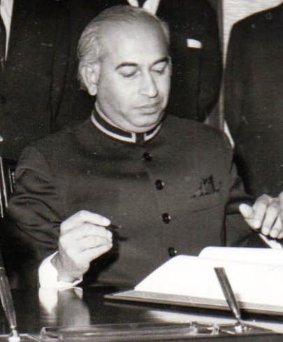 Padre de Benazir Bhutto