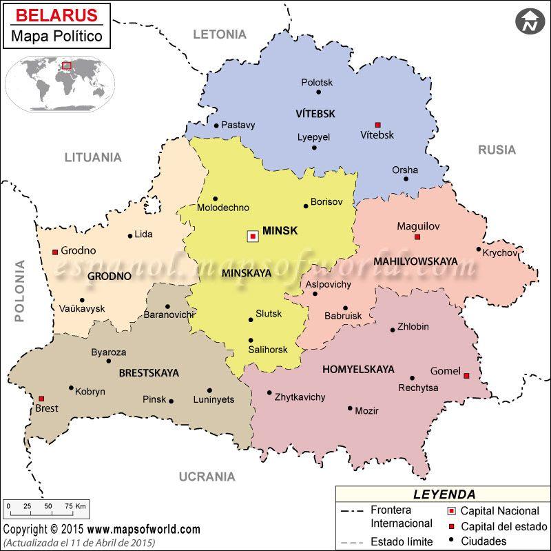 Bielorrusia país natal de Sofía Kovelevskaya