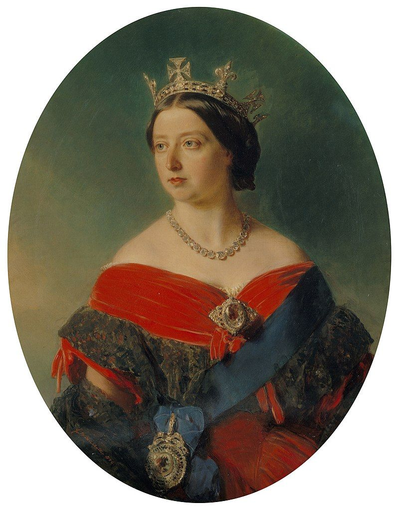 Joven reina Victoria