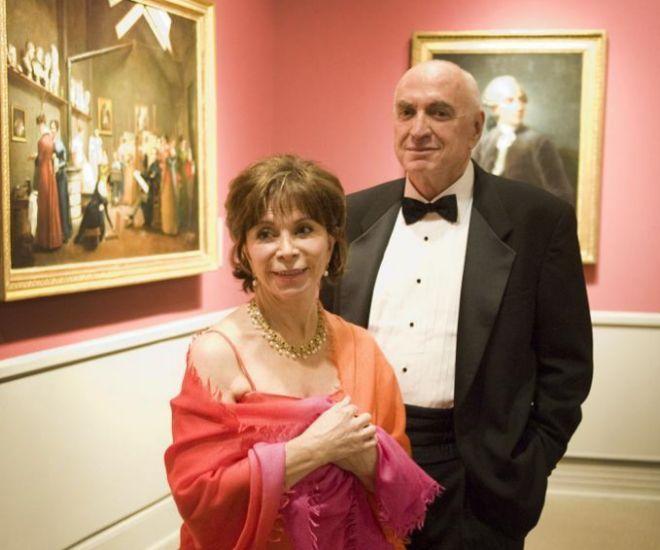 Isabel Allende y Roger Cukras