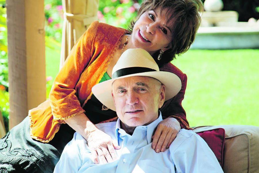 Isabel Allende y William Gordon