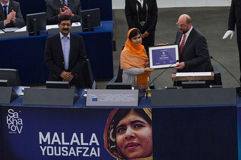 Malala Yousafzai premio Sajarov