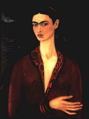 Auto retrato Frida Kahlo