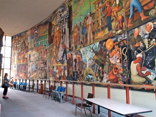 Cuadro de Diego Rivera