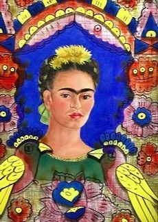 Frida Kahlo auto retrato