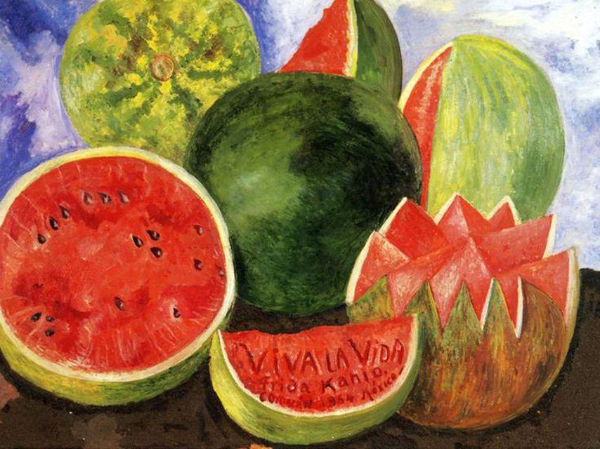 Frida Kahlo cuadro
