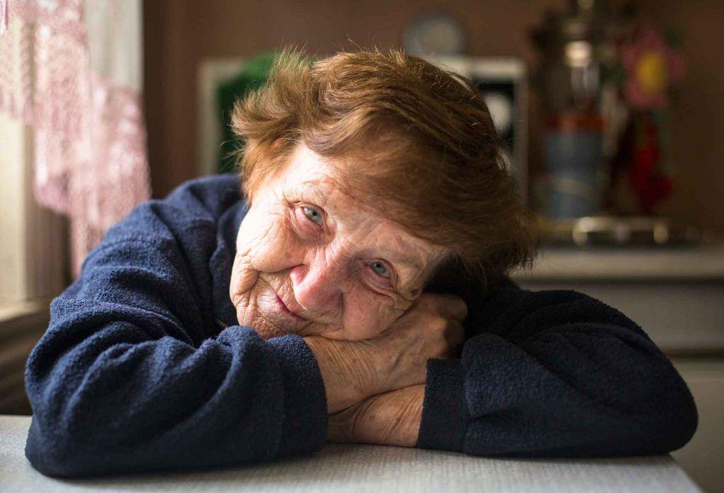 Anciana Genoveva Torres