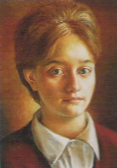 Isabel Guerra autorretrato