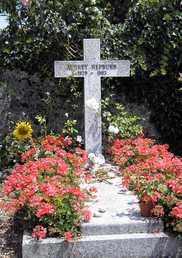 Audrey Hepburn tomb