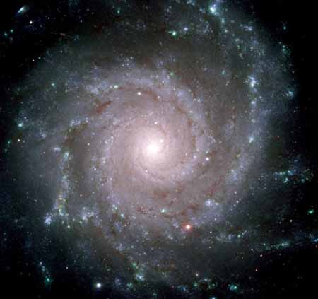 Galaxia espiral Vera Rubin