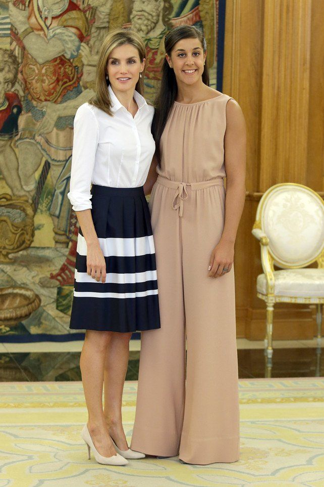 Carolina Marín reina Letizia
