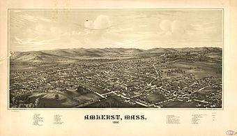 Amherst panoramic 1966