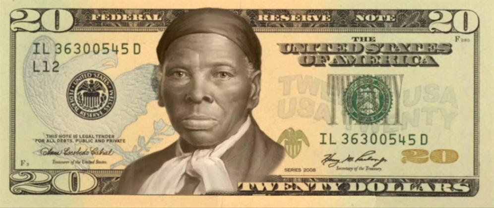 Billete Harriet Tubman
