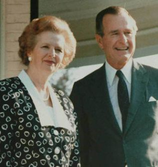Margaret Thatcher Bush