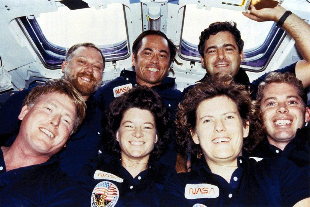Crew STS41 Sally Ride
